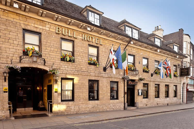 Places to Stay in Peterborough: Bull Hotel - We Love Peterborough