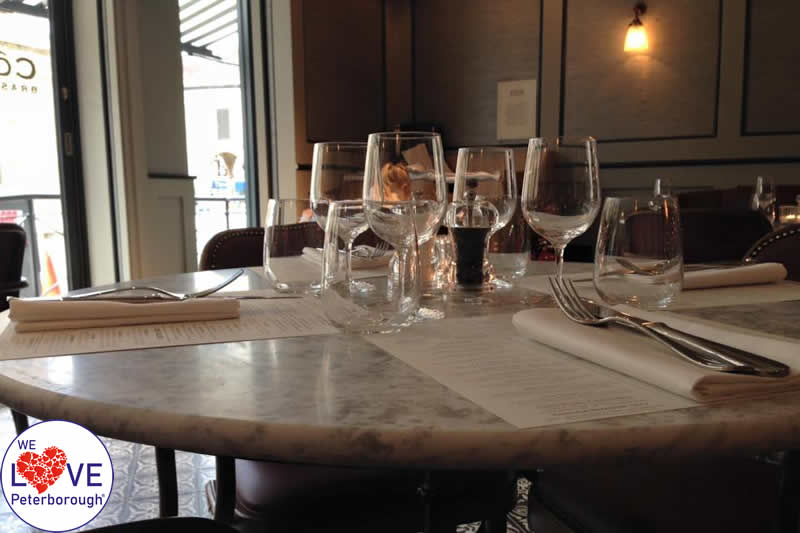 Cote Brasserie - places to eat in Peterborough: We Love Peterborough