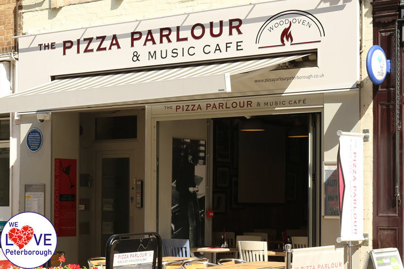 The Pizza Parlour Music Cafe We Love Peterborough