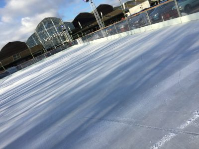 Ice Skating Rink at Van Hage - PE1 Retail | We Love Peterborough