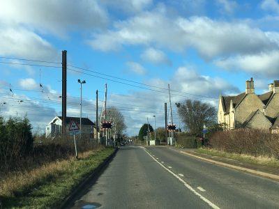 The open road through Helpston