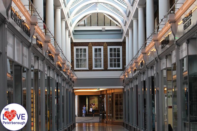 Places to Shop in Peterborough: Westgate Arcade - We Love Peterborough
