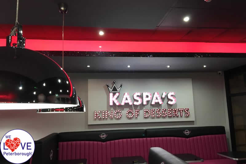 KASPAS Desserts - Where to eat in Peterborough - We Love Peterborough