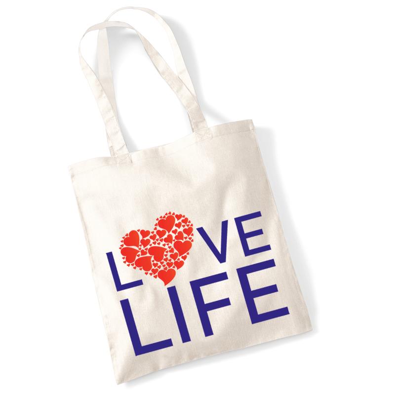 Love Life shopping bag