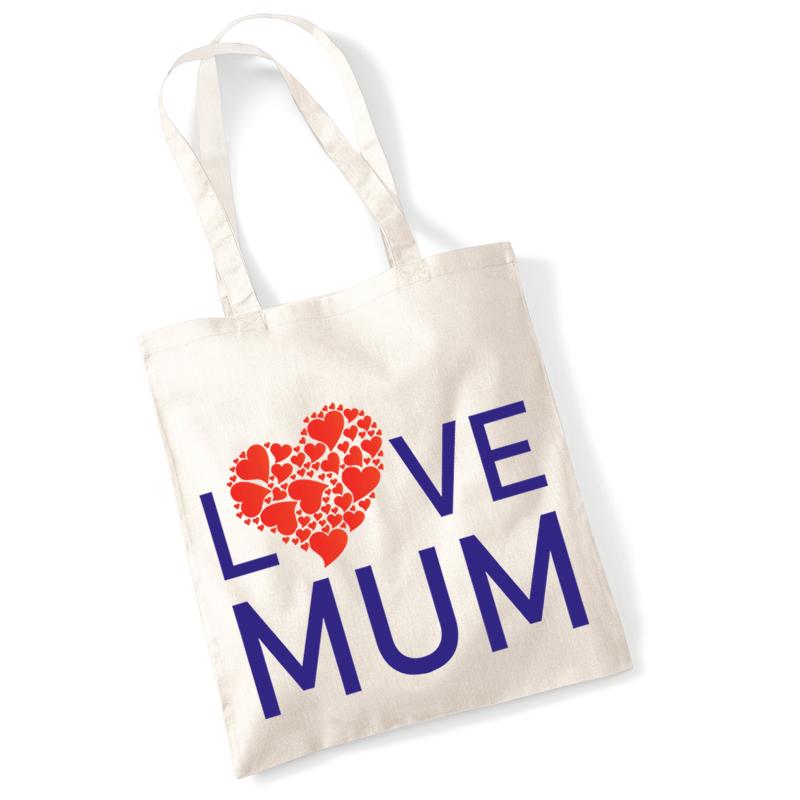 Love Mum shopping bag