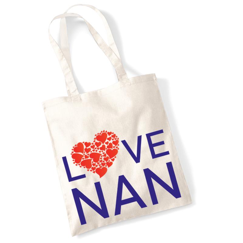 Love Nan Shopping Bag