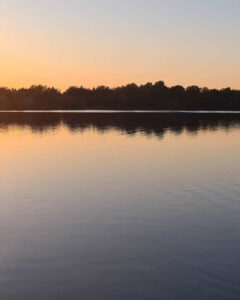 Abby Houghton - Crown Lakes Sunset
