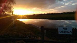 Amber Fisher - Stanground Lock Sunset