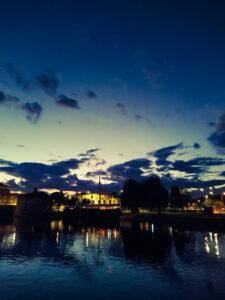 Dawid Feret - River Nene Nighttime