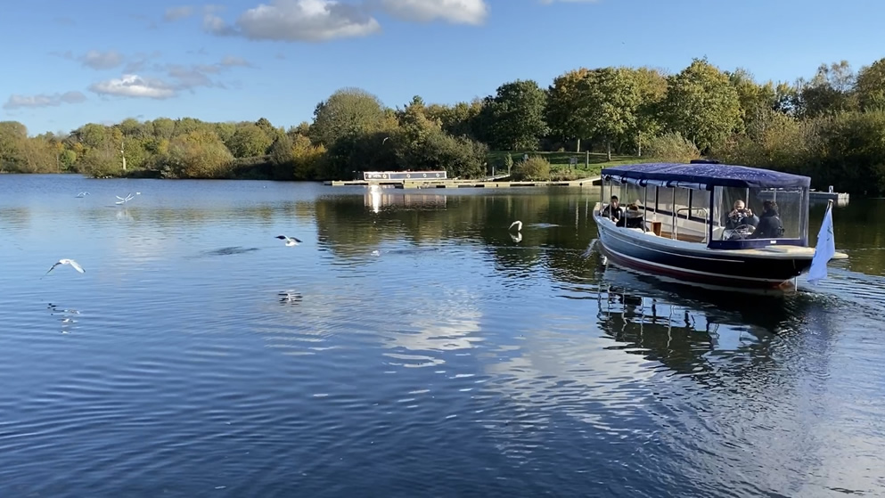 things to do in Peterborough - Ferry Meadows Boat Trip